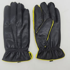 Comfortable Mens Thin Leather Gloves , Men'S Insulated Leather Gloves M / L Size